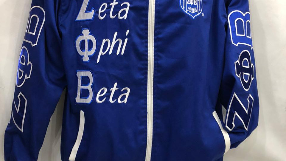 Zeta Blue Seal Racecar jacket