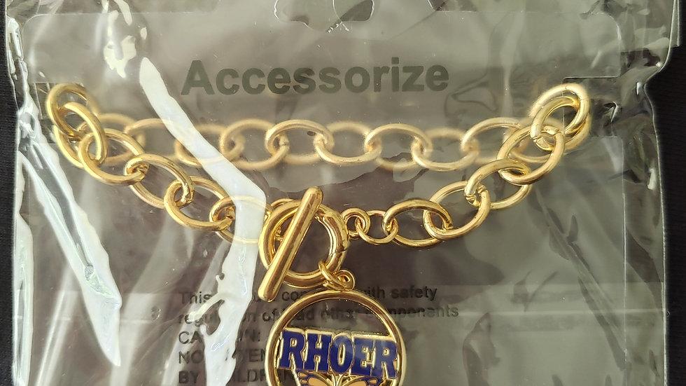 Rhoer Chain Butterfly Bracelet