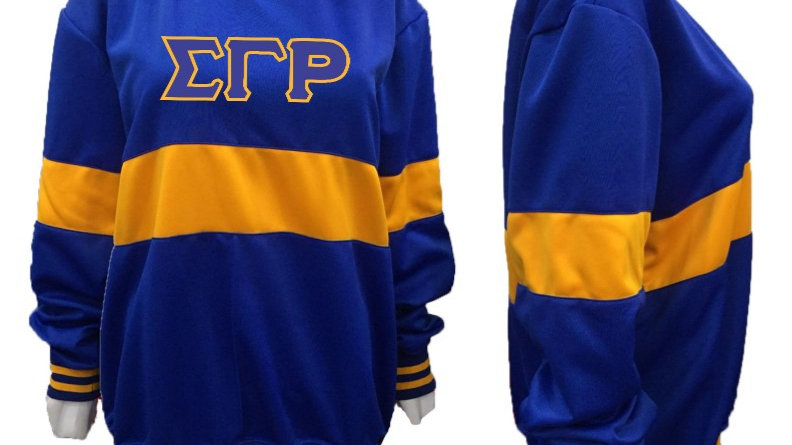 Sgrho New Blue and Gold Sweatshirt (PREORDER)