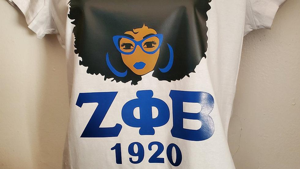 Zeta Lady 1920 Shirt