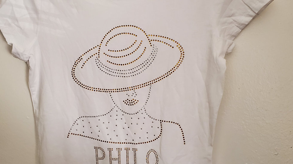 Philo Lady Hat Bling
