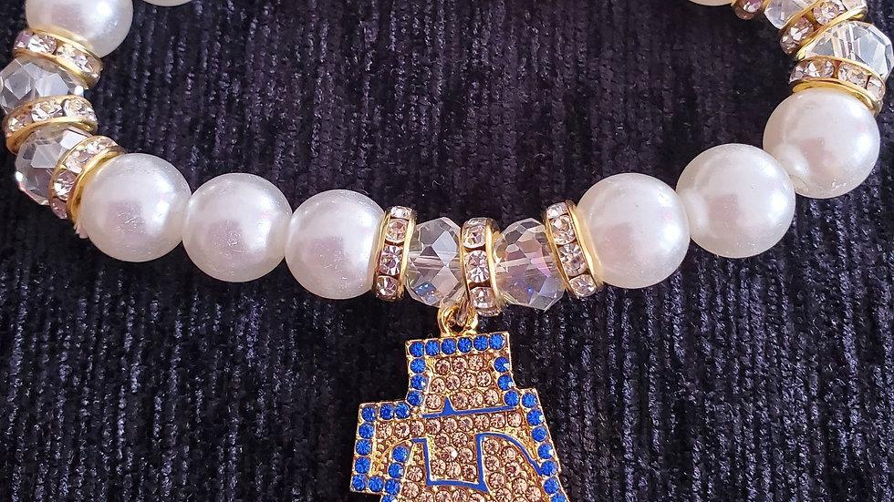 A&T Bling Pearl Bracelet