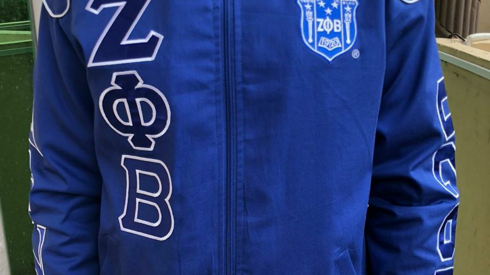 Zeta Racecar Jacket with Dove