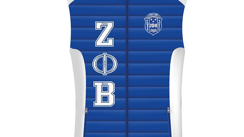 Zeta Blue/White 1920 Vest (PREORDER)