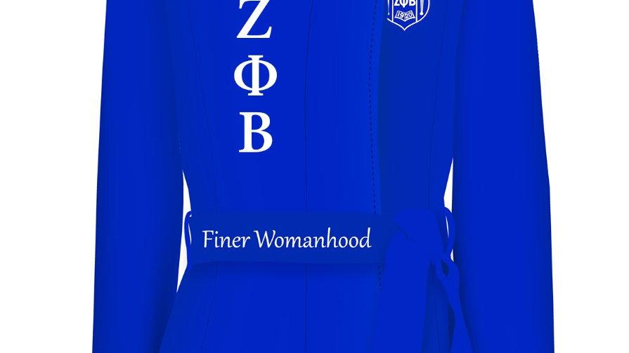 Zeta Peacock Coat (PREORDER)