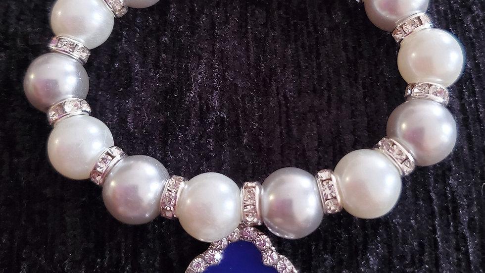 Zeta Pearl Bracelet