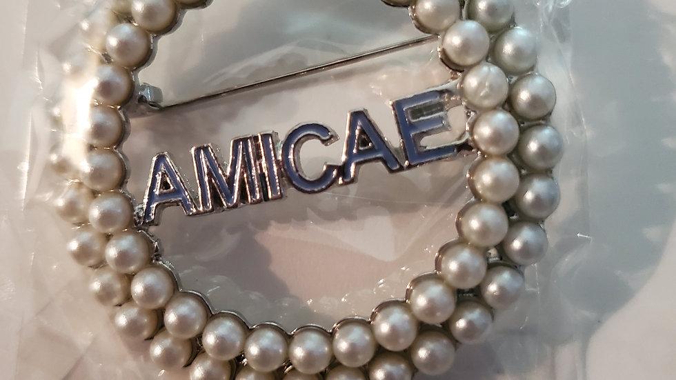 Zeta Amicae Pearl Pin