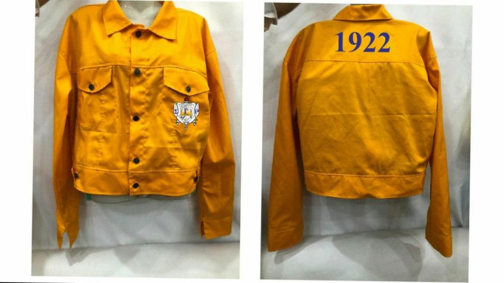 Sgrho Crop Jacket