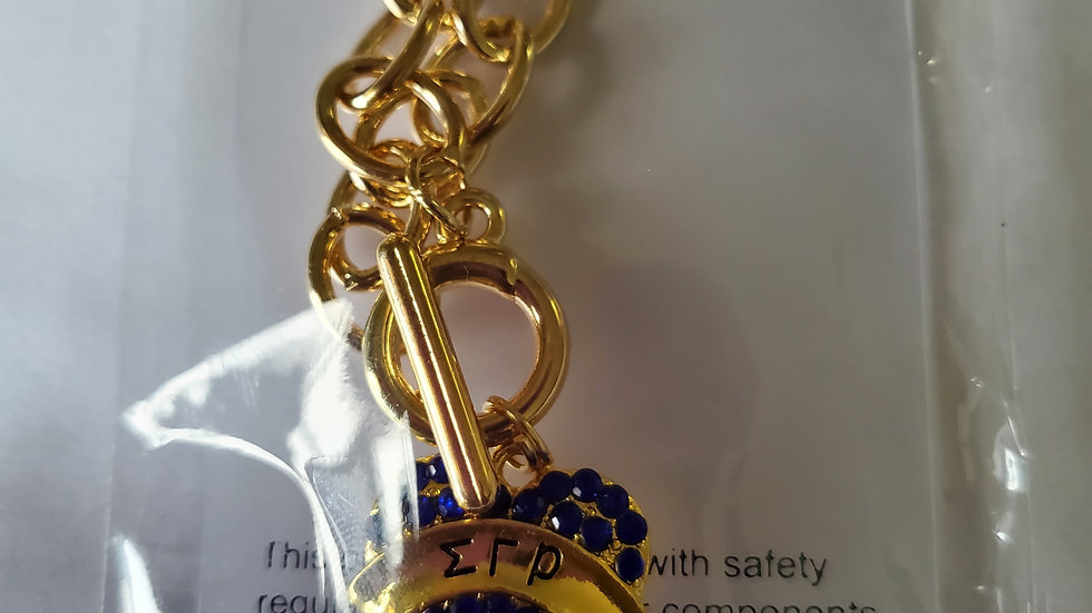 Sgrho Heart Chain Necklace