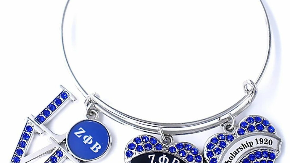 Love and Heart Charm Bracelet
