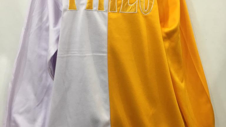 Philo White/Gold  Sweatshirt
