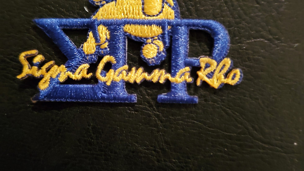 Sgrho Small Poodle Patch
