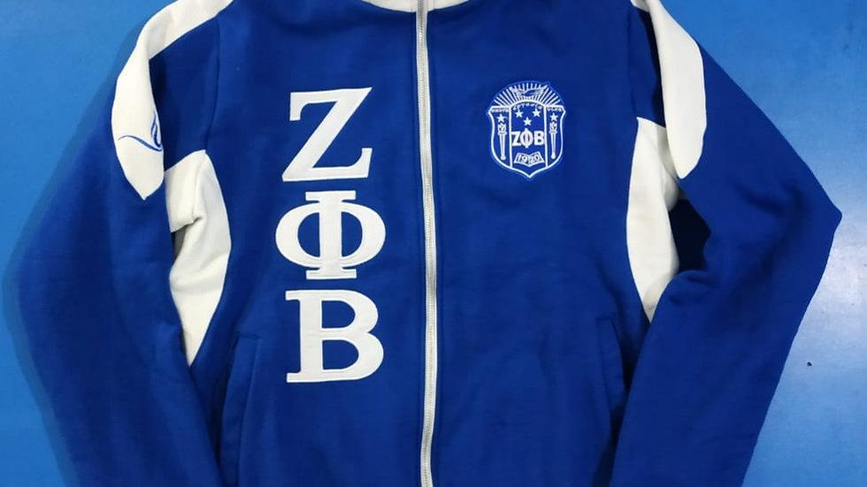 Zeta New Fleece Track Jacket