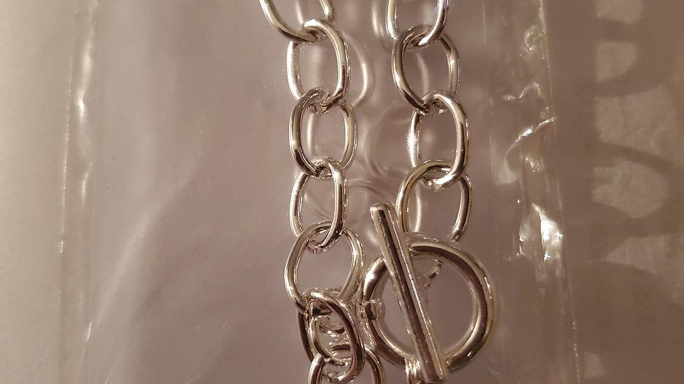 Zeta Chain 5 pearl Necklace