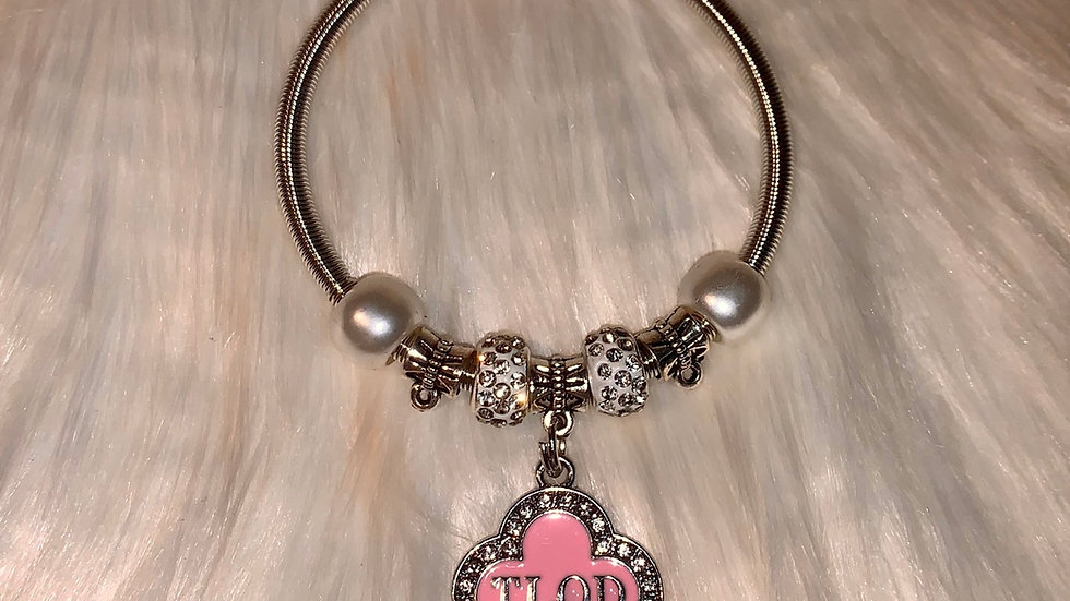 TLOD silver bracelet