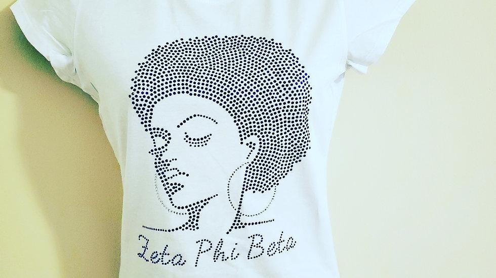 Zeta Afro bling Shirt