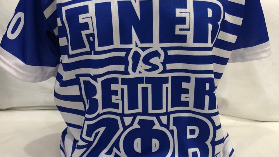 Zeta Finer life is Better Jersey