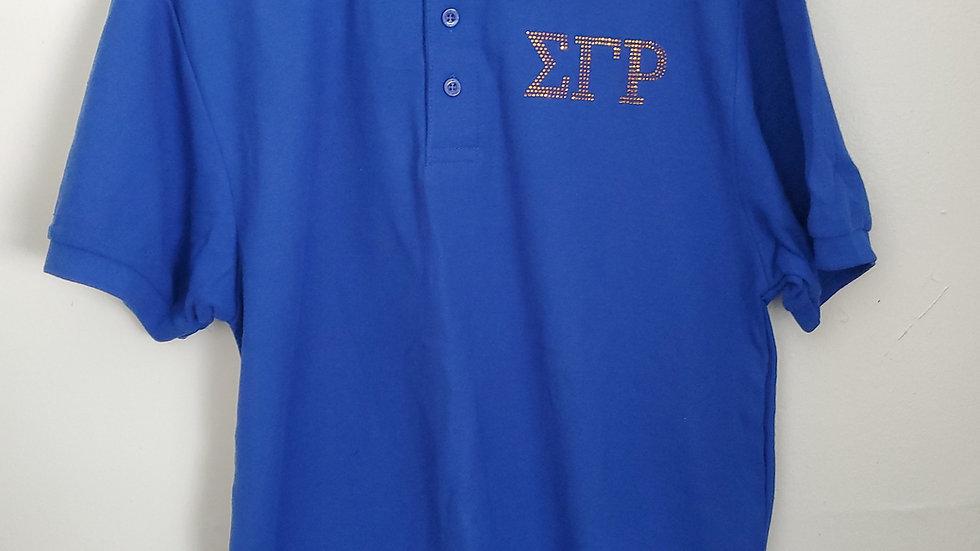 Sgrho Blue polo Shirt