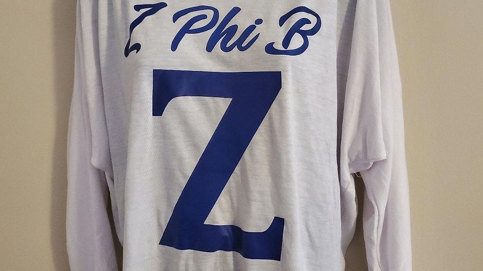 Off Shoulder Z shirt