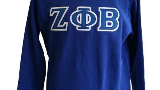 Zeta Letter Sweatshirt