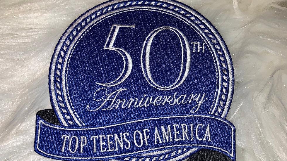 50th anniversary TTOA Patch
