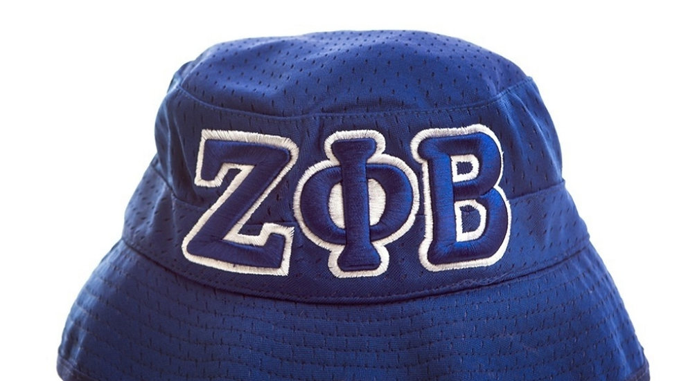 Blue Zeta Bucket Hat