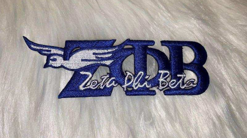 Zeta z phi b patch with dove