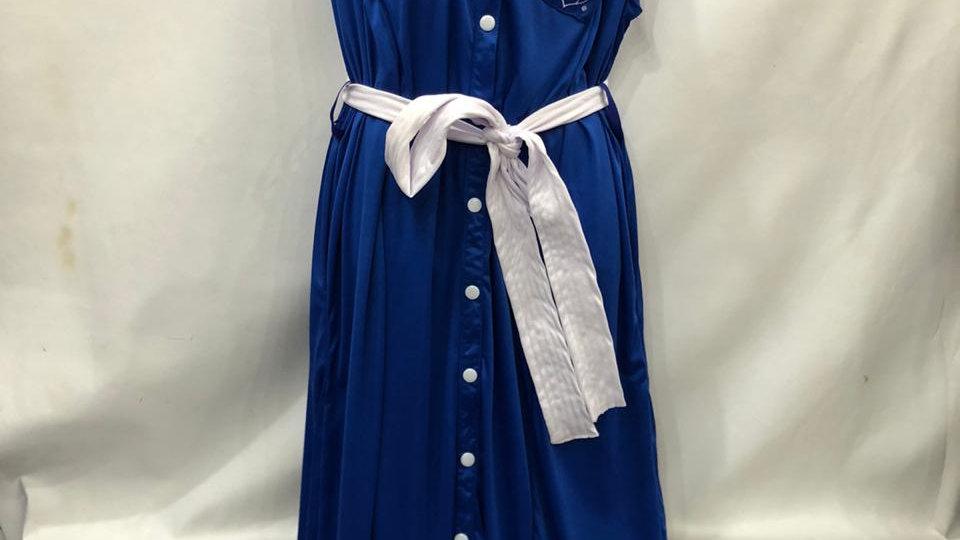 Zeta Button Dress