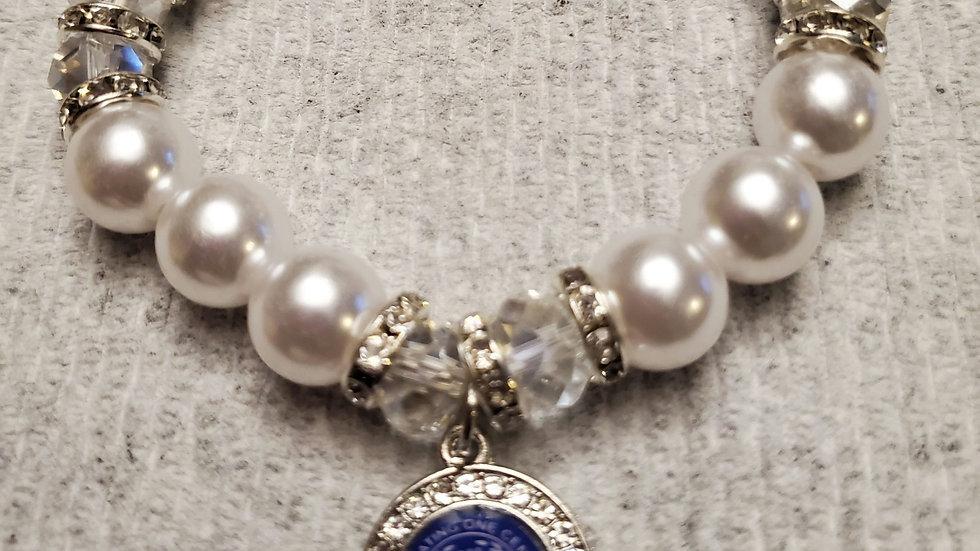 Zeta Pearl 100th year Bracelet
