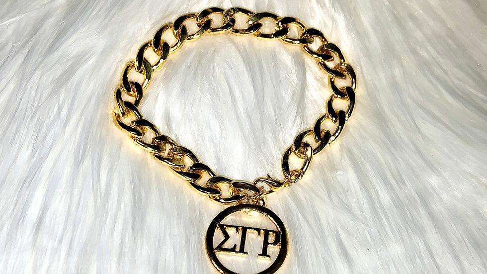 Sgrho chain bracelet