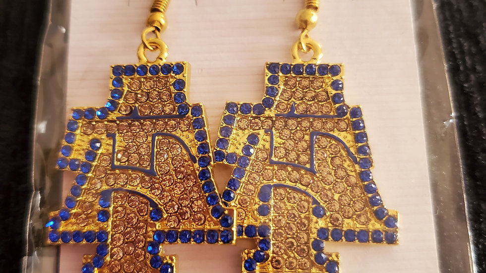 A&T Bling Earrings