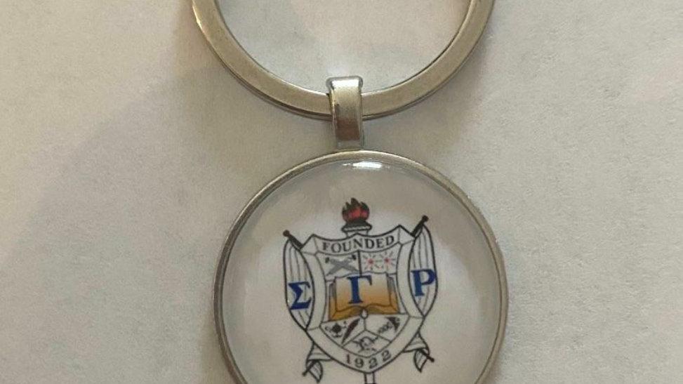 Sgrho Shield Keychain 30 mm