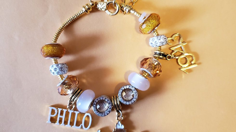 Philo Charm Bracelet