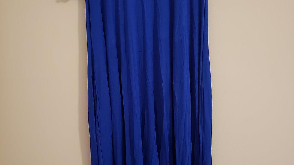 Zeta Blue Dress Plus size