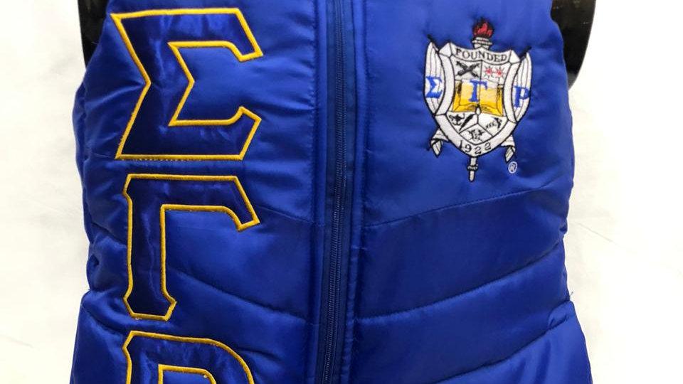 Sgrho Blue 1922 Vest