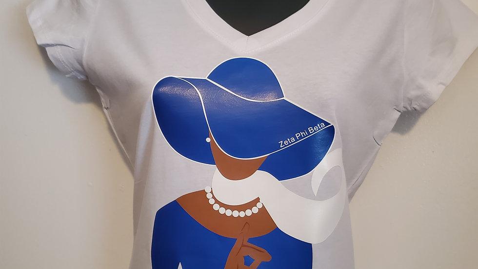Zeta Lady Tshirt
