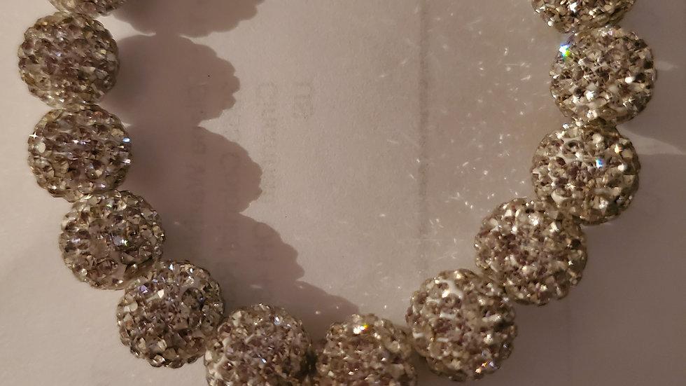 Zeta Bling Sliver Bracelet