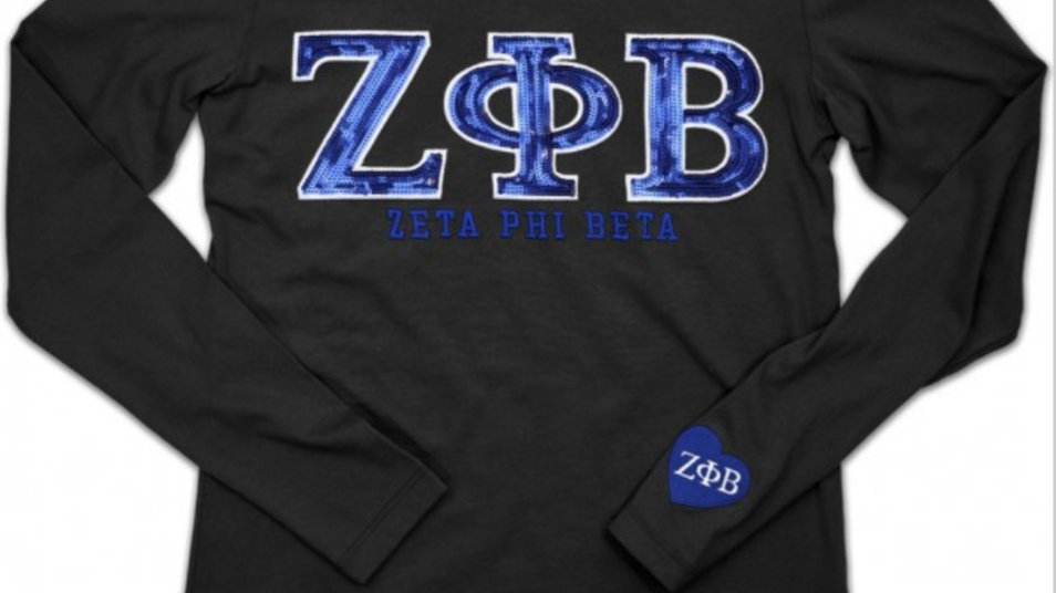 Zeta New Long Sleeve Black Shirt