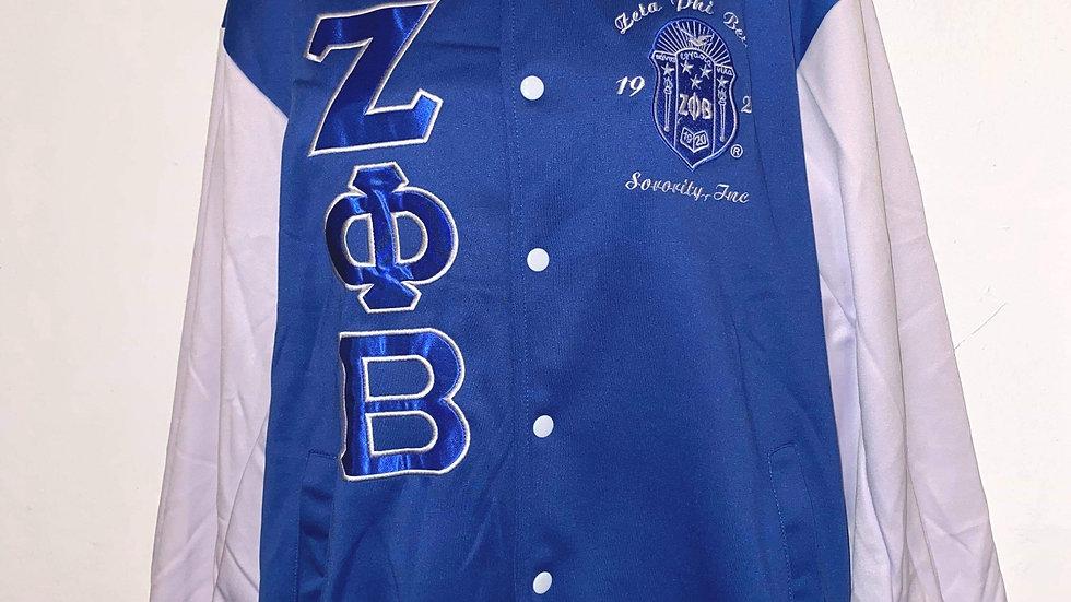Zeta Royal Letteman Jacket