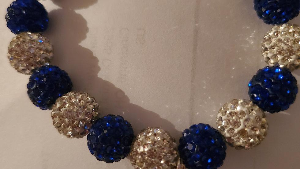 Zeta Pearl Bling Bracelet