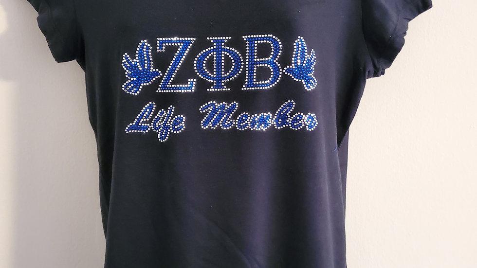 Zeta Life Member Shirt
