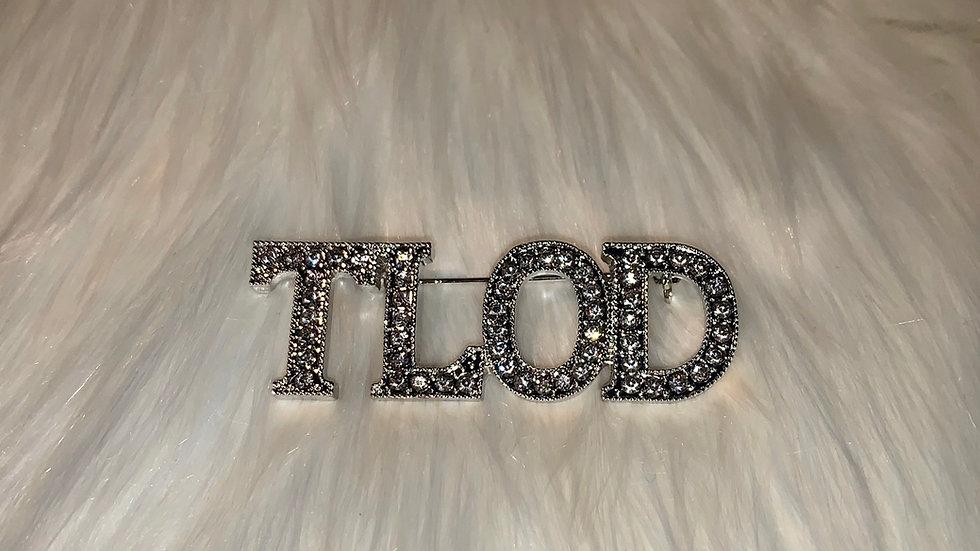 TLOD word bling pin