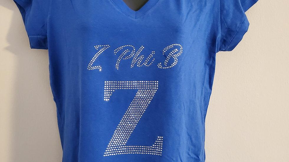 Zeta Z bling Tshirt