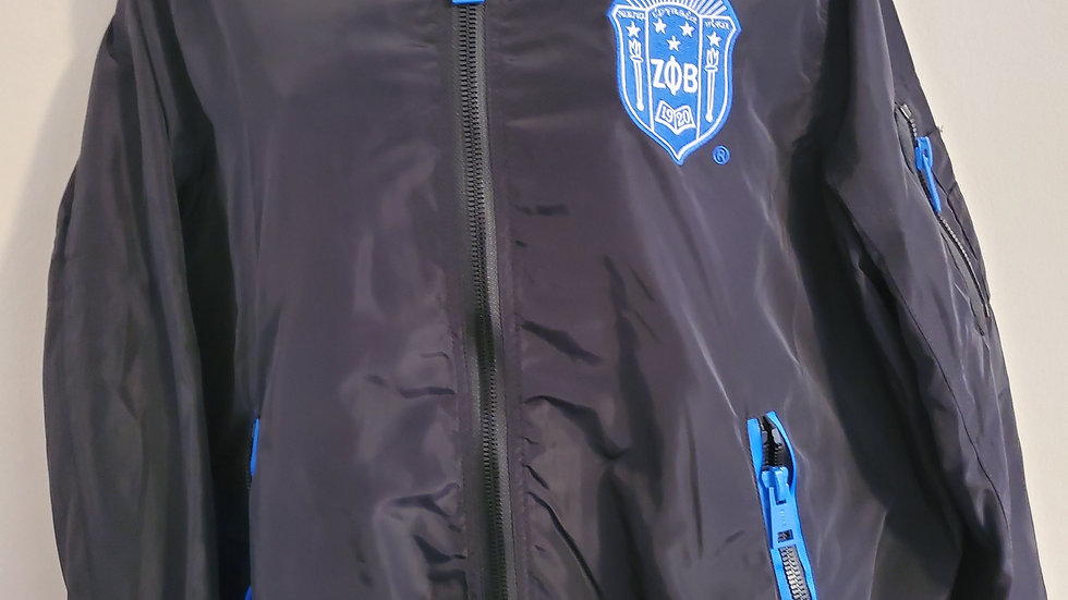 Zeta Black Shield Jacket With Zeta Lining