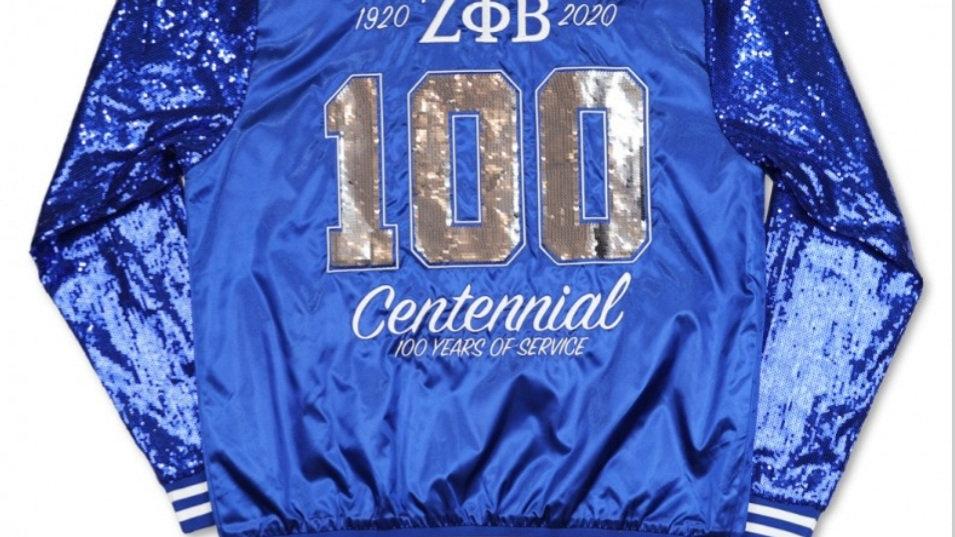 Zeta 100th Yr Jacket