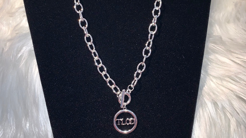 TLOD silver chain necklace