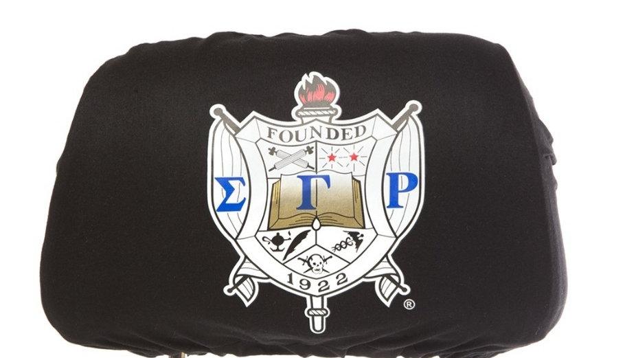 Sgrho Black Headrest Cover