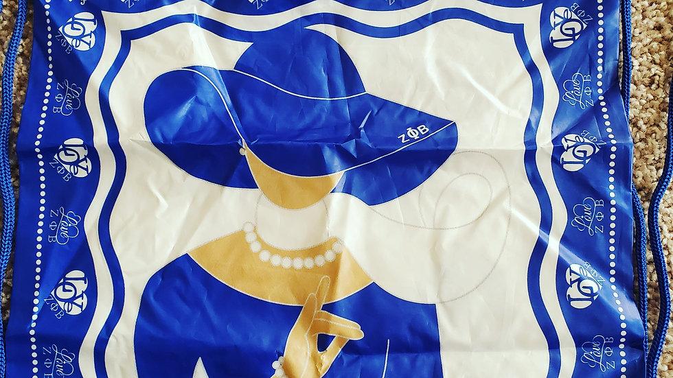 Zeta Lady Collection Drawstring Bag
