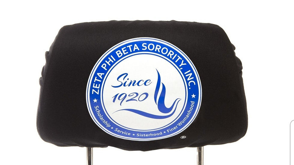 Zeta Black Head seat Cover