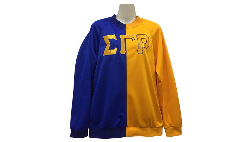 Sgrho Blue n gold Sweatshirt